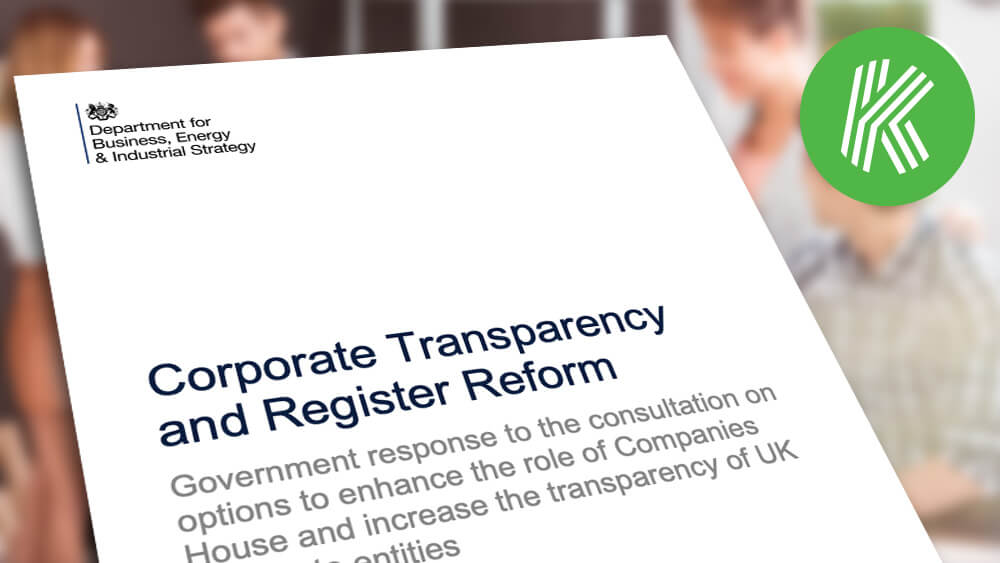 Government publishes its response to consultation on Corporate Transparency and Register Reform