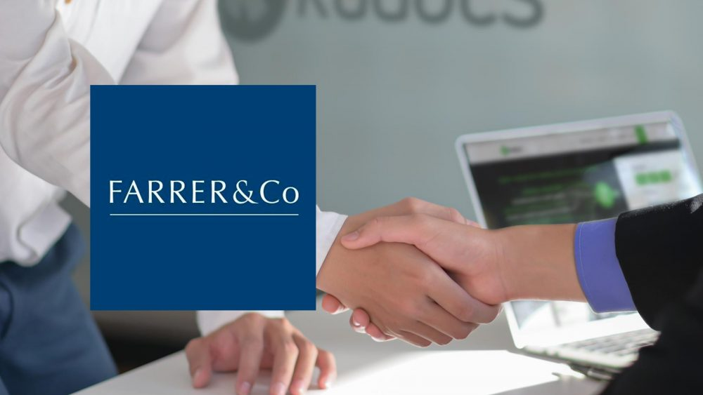 Farrer & Co LLP partners with Kudocs